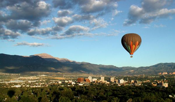 Balloons over Boulder